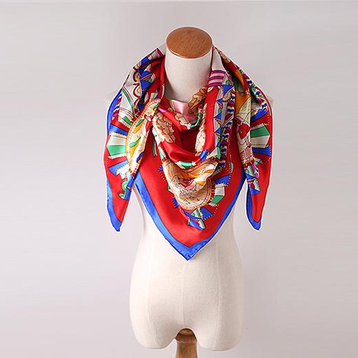 丝巾摆放造型图片欣赏